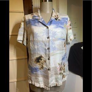 Hilo Hattie small button down shirt